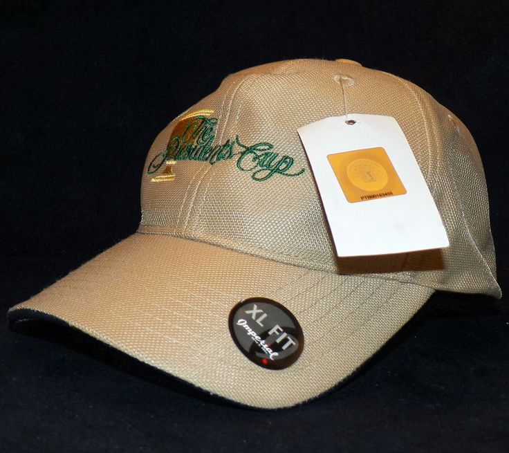 the presidents cup tour beige baseball golf hat cap park sf xl caps australia black 2xl