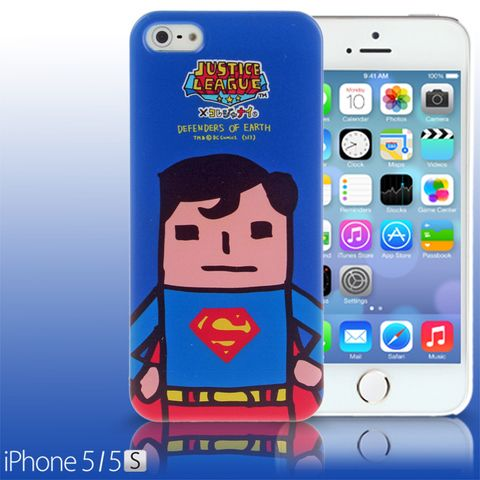 iPhone 5 / 5s Comic Case: Justice League X Korejanai DC Comics Heroes - Superman (Limited Edition)