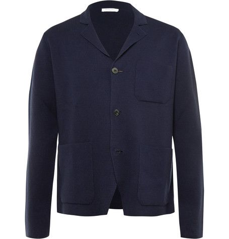 The considerate cut and sumptuous handle of <a href='http://www.mrporter.com/mens/Designers/Boglioli'>Boglioli</a>'s cotton and cashmere-blend blazer is characteristically Italianate. With notch lapels and a three-button closure, it's a simple way to smarten your look and cover up on casual days. The patch pockets give it an air of nonchalance.
