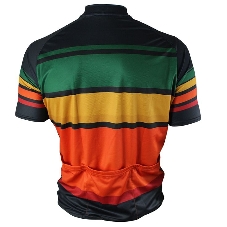Stick Bike Cycling Jersey - Back view - FREE SHIPPING - http://www.cyclegarb.com/83-sportswear-cycling-jerseys.html