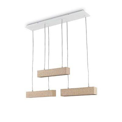 ideal lux Ekos sp6 Square | lampadari contemporanei prezzi Il ...