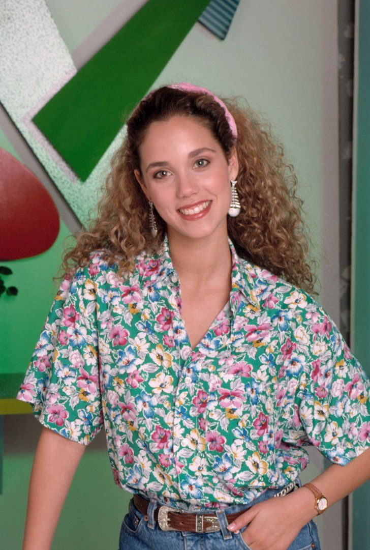 Pin for Later: Saved by the Bell Cast: Where Are They Now? Elizabeth Berkley as Jessie Spano