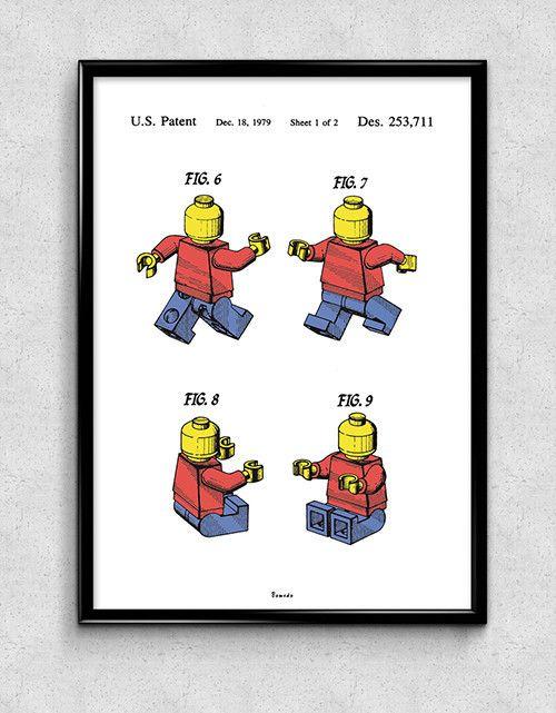 Lego Figure (color) - Available www.bomedo.com
