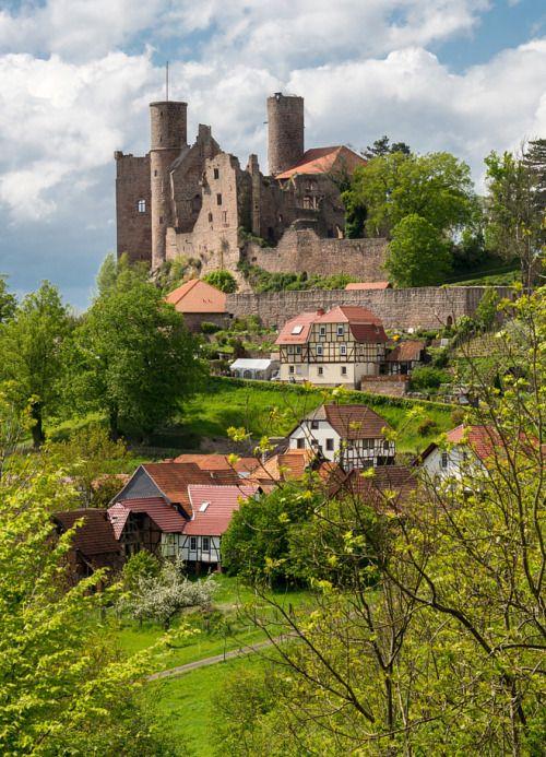 Burg Hanstein Bornhagen (Thüringen) #thueringen #thueringenentdecken #wanderlust