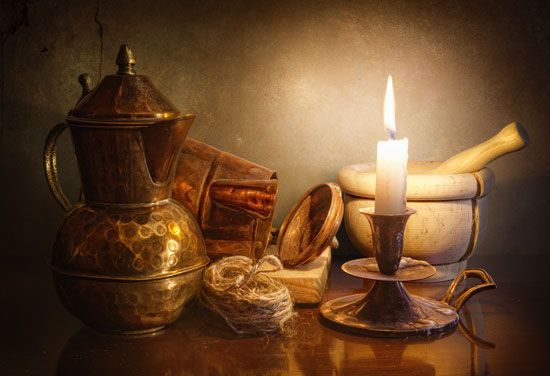 Candle light Still Life Photography