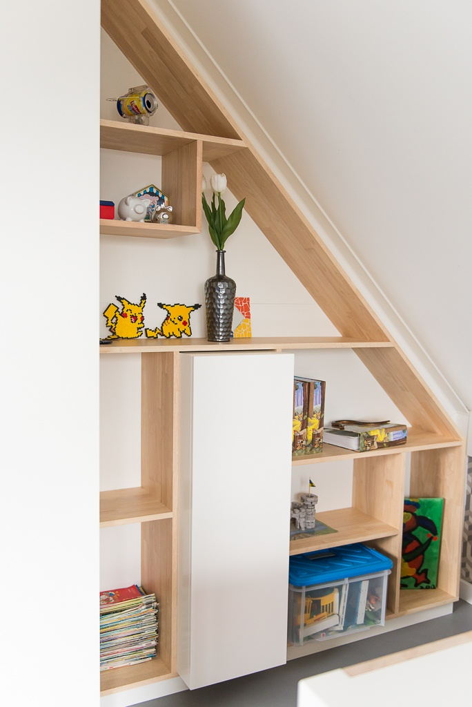 Here you can see a nice solution to use the small space you have.