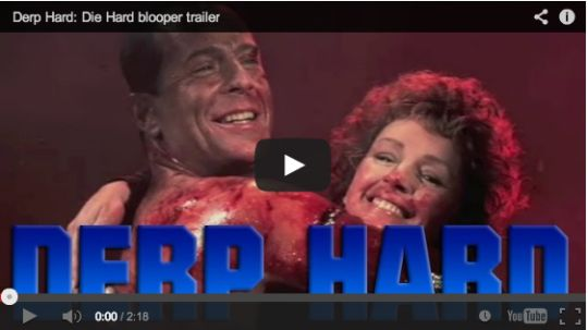 Trailer for Die Hard made using bloopers