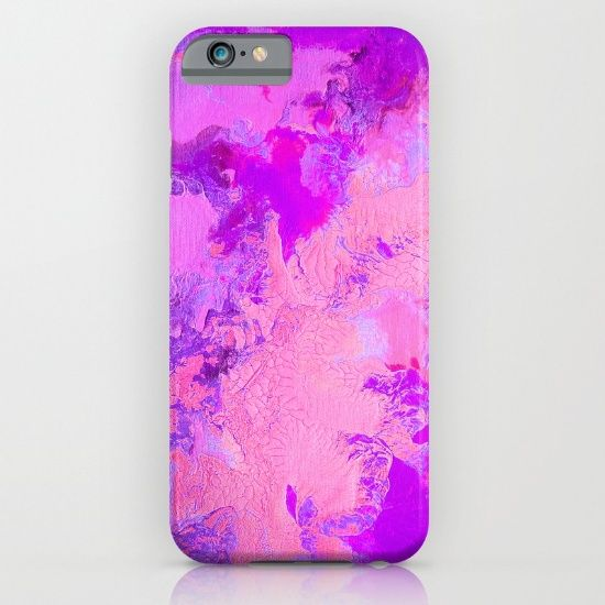 Buy Pink Crackle iPhone & iPod Case by Jazzyinked at Society6
