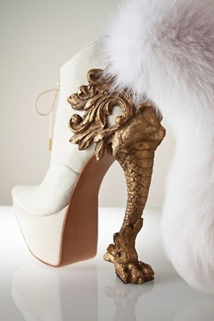 cff07100b450 Der japanische Designer Masaya Kushino verbindet mit seinen faszinierenden  und ausgefallenen Schuhkreationen wohl alle Klein-Mädchen-Faibles, ...