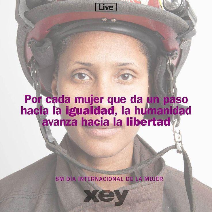 ¡Que la libertad y los mismos derechos sean el norte y la meta siempre en tu día! Porque esta celebración no se trata de más igualdad sino de más justicia para ti #mujer corazón de nuestro hogar. Feliz día a todas nuestras mujeres! Esposas madres hermanas hijas amigas... Cualquiera que sea su rol las hace ser increíbles! #FelizDía  #DíaInternacionalDeLaMujer  #XEYvenezuela #cook #Feel #live #diseñointerior #cocinas #hogar #decoración #diseñodeinteriores #cocinasmodernas #cocinasespañolas