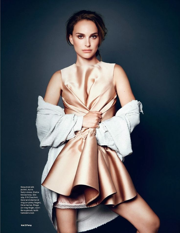 Natalie Portman for Elle UK
