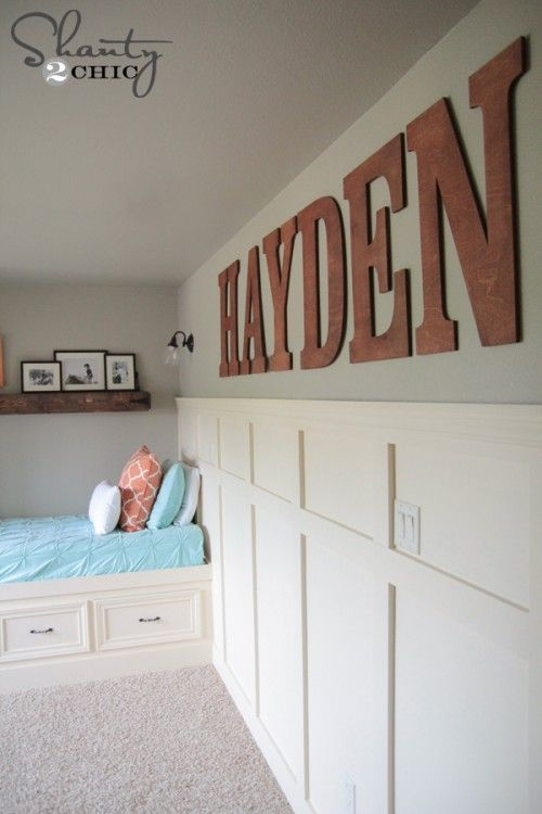 Big Wood Wall Letters