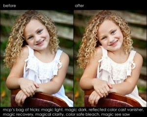 Photoshop Elements actions for Retouching by bettie