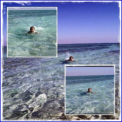 """""""Pływać każdy może: jeden lepiej drugi gorzej :)"""" Fot.: Aneta G. #AktywnaPlaza #PomorzeZachodnie"""