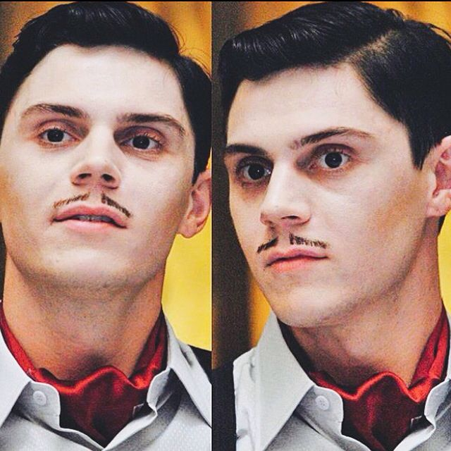 Evan Peters // American Horror Story Hotel // James March