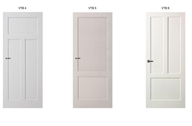 Dichte paneeldeuren leverbaar via Veldhuizen Totaal Bouw voor in uw nieuwe woning. #paneeldeur #veldhuizen