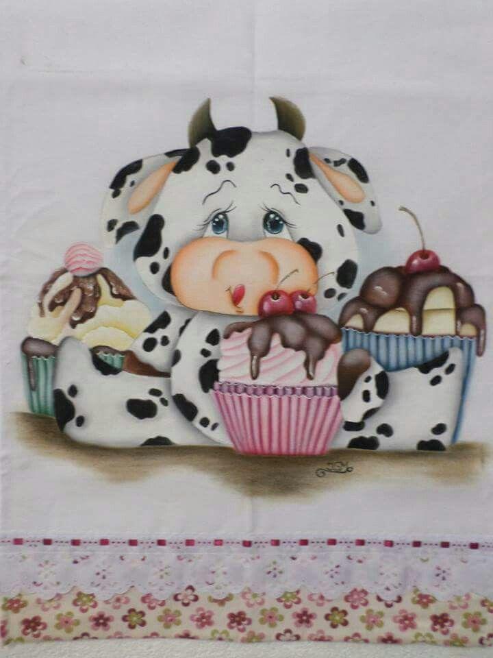 vaquinha com cup cakes