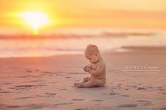 Baby Poppy | 6 Month Baby Beach Session | kansas studios | kansas pitts photogra… – bella bella