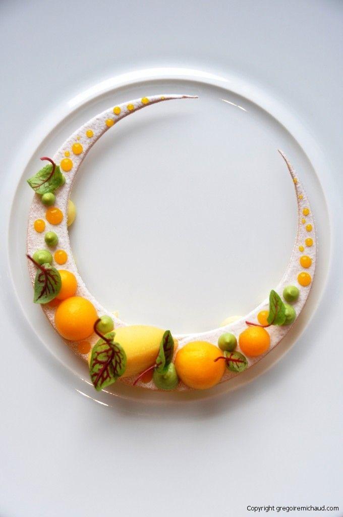 Mango Avocado on Vanilla Sable! #dessert #food #yummy #delicious #art #tasty #foodart #amazing #loveit