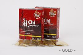 Chipad Foot Patch Gold