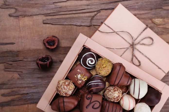 Life is like a box of chocolates >>> visit the website for more delightful facts about chocolate