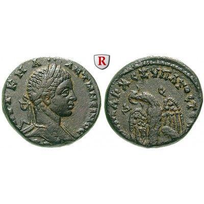 Römische Provinzialprägungen, Seleukis und Pieria, Antiocheia am Orontes, Elagabal, Tetradrachme 219, vz: Seleukis und Pieria,… #coins