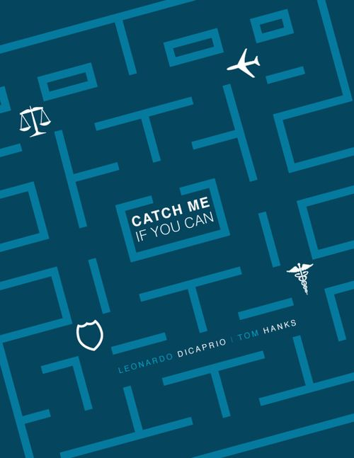 Catch Me If You Can (2002) - starring Leonardo DiCaprio as Frank Abagnale Jr. & Tom Hanks as Carl Hanratty