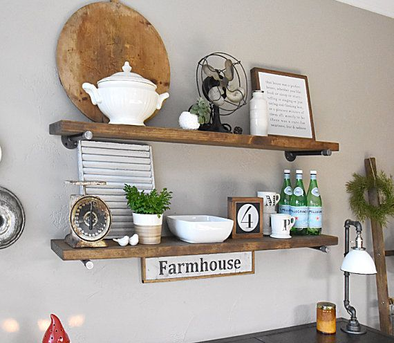 Pin On Rustic Shelves Edna Faye Creations