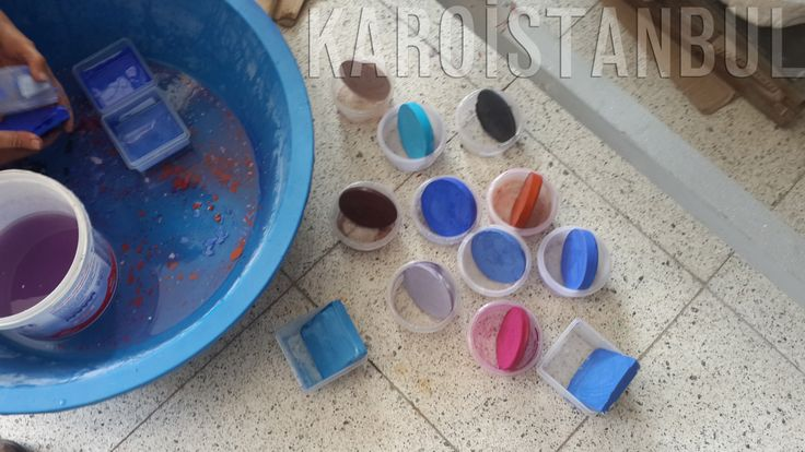 The color testing research conducted by Karoistanbul These colors are very fantastic and amazing :)