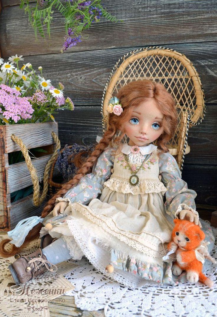 кукла ручной работы, кукольная одежда
