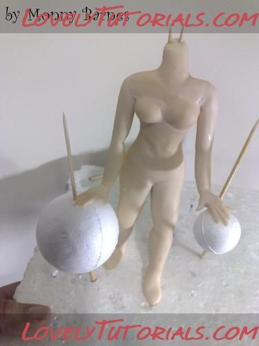 polymer clay figure tutorial
