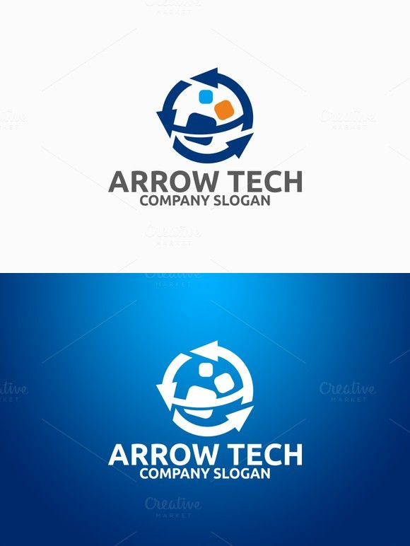 Arrow Tech Logo. Logo Templates. $29.00