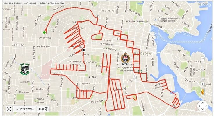 GPS Doodles Turn Your Workout Into an Art Project | Atlas Obscura