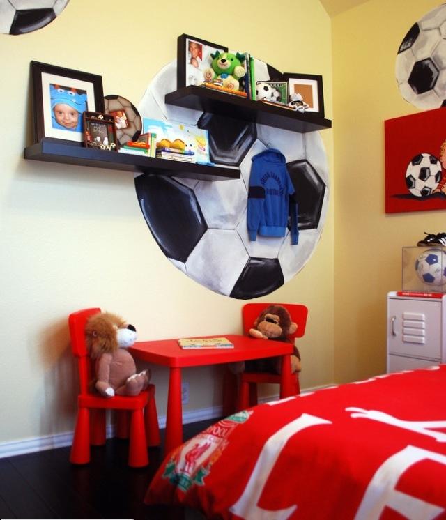 Cool idea for a boys room