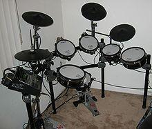 Batería (instrumento musical) - Wikipedia, la enciclopedia libre