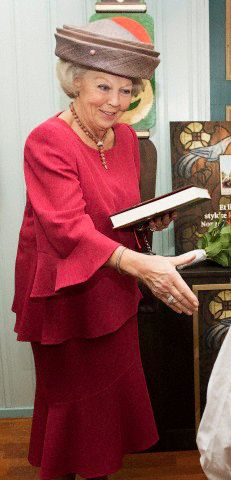 Princess Beatrix, November 13, 2014 | Royal Hats.... Posted on November 13, 2014 by HatQueen.....Dutch Princess Beatrix officially opened the Christmas market in the Norwegian Church in Rotterdam today.