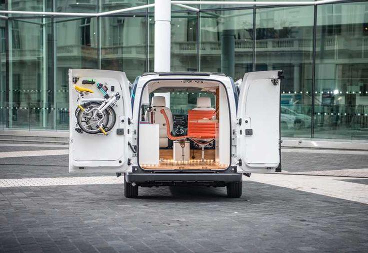 Nissan NV200 — мобильный офис + (Видео)