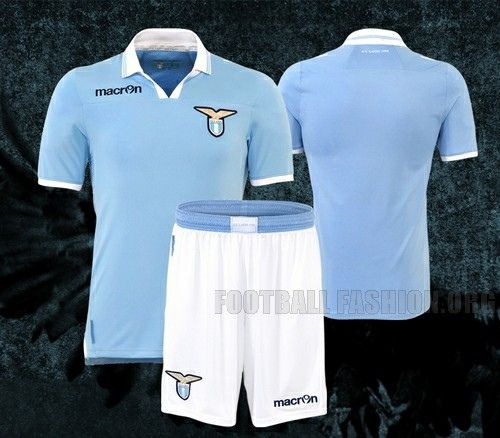 SS Lazio MACRON 2012/13 Home Kit ... THIS IS AWESOME