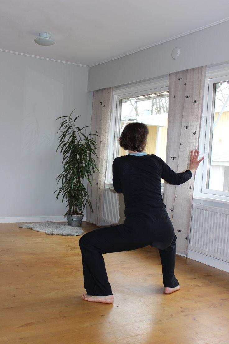 """Nia-träningspass på vår  """"Hälsoresa till Åland"""" - NIA är en träningsform inspirerad av dans, kampsport, yoga, tai chi och tekniker för kroppsmedvetenhet"""