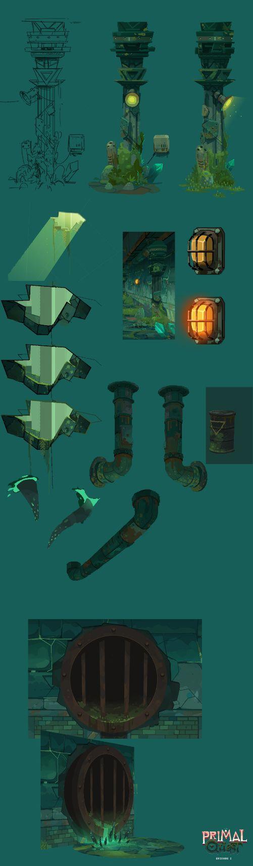 2# Primal Quest//Final art. on Behance