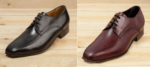 Jack Shoe - The Jack is a 4 hole derby style lace up shoe with twin seam vamp made from full grain leather available in black, brown and light brown colours and a range of sizes from 5 – 12.