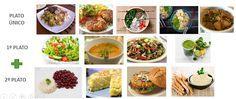 Aquí tienes un menu semanal vegetariano realizado por la dietista- nutricionista Lucia Martínez para planificar saludablemente las comidas.