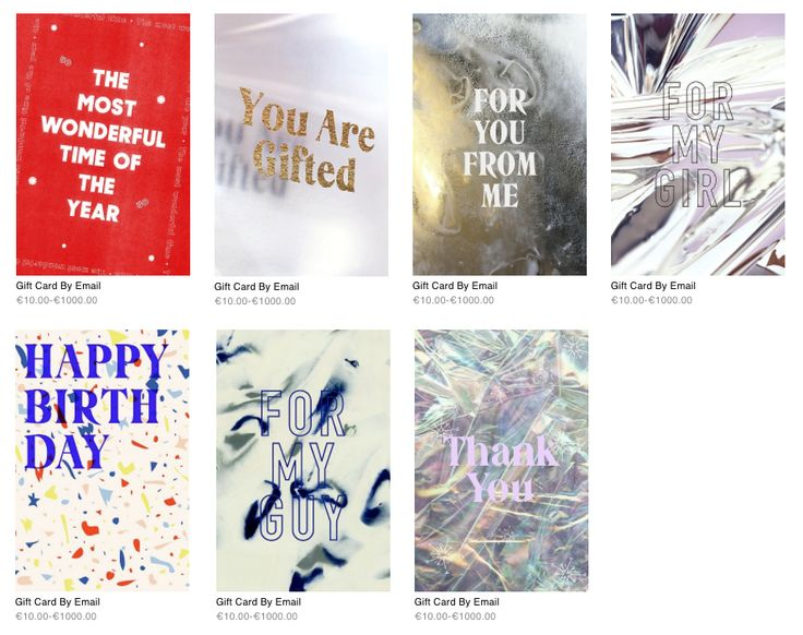 Urban Outfitters Email Gift Cards