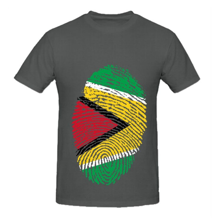 ==> [Free Shipping] Buy Best RTTMALL Cotton Men t-shirts Top Fingerprint short sleeve O Neck Guyana Flag Men's Team Large Size T-shirt Funny Sayings Apparel Online with LOWEST Price | 32799493980