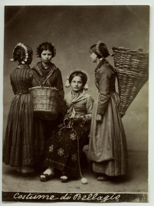 Italian Vintage Photographs ~ #Italy #Italian #vintage #photographs #family #history #culture ~ Italy,1890's