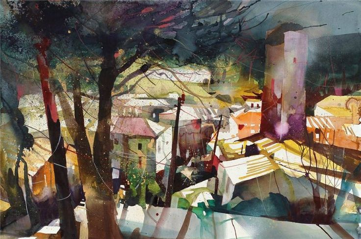 Bernhard Vogel watercolors - Google Search | abstract ...