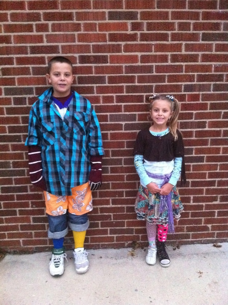 Mismatched to the max | work kids | Pinterest