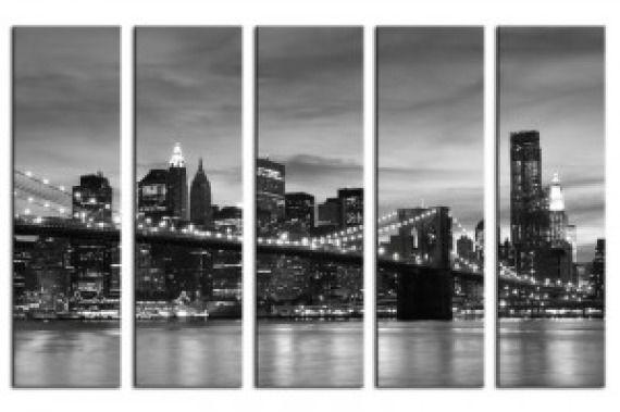 Obraz na płótnie OAR011_52 - Brooklyn Bridge II