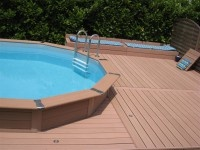 Terrasse piscine hors-terre