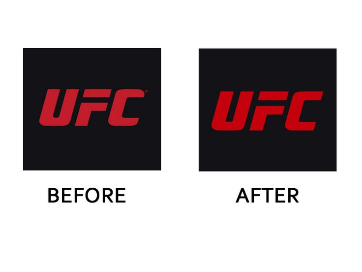 """UFC's update from Troika includes a more attractive """"C"""" and brighter red to bring uniformity to the brand's 15 properties, as it will now be used in each of them."""